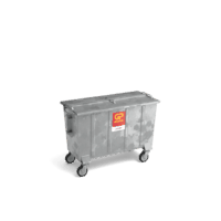 Papier/karton container (staal) vanaf 770l